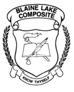 Blaine Lake School Logo