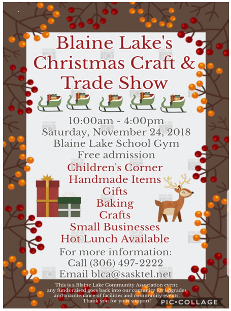 Blaine Craft Show